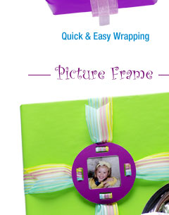 picture frame gift wrapping