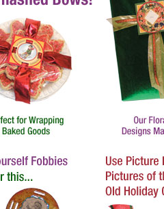 holiday gift wrapping with the fobbie